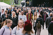 Photos of general crowd atmosphere at Secret Solstice Music Festival 2014 in Reykjavík, Iceland. June 21, 2014. Copyright © 2014 Matthew Eisman. All Rights Reserved