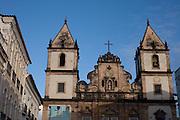 Salvador_BA, Brasil.<br /> <br /> Igreja Sao Francisco no Pelourinho em Salvador, Bahia.<br /> <br /> Sao Francisco church in Pelourinho in Salvador, Bahia.<br /> <br /> Foto: MARCUS DESIMONI / NITRO