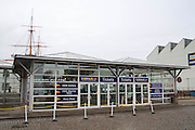 The Porstmouth historical dock visitors centre.