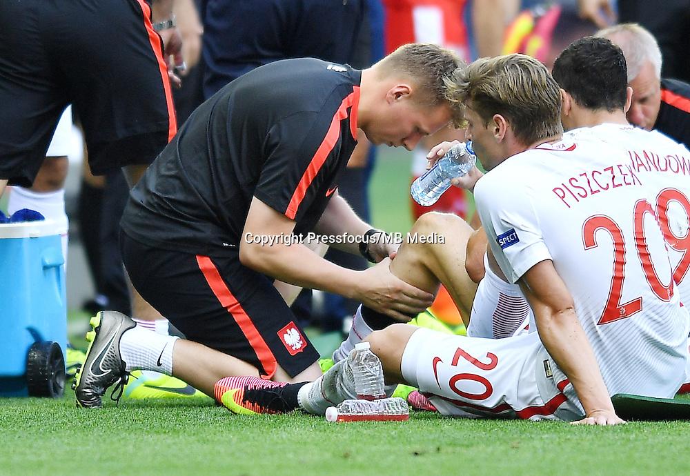 2016.06.25 Saint-Etienne<br /> Pilka nozna Euro 2016<br /> mecz 1/8 finalu Szwajcaria - Polska<br /> N/z Lukasz Piszczek<br /> Foto Lukasz Laskowski / PressFocus<br /> <br /> 2016.06.25<br /> Football UEFA Euro 2016 <br /> Round of 16 game between Switzerland and Poland<br /> Lukasz Piszczek<br /> Credit: Lukasz Laskowski / PressFocus