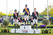 Podium Young Riders<br /> CH Mierlo 2019<br /> © DigiShots