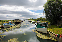 The River Hull runs near to the village, with many house boats a swing bridge and bridge keepers cottage.