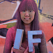 Rachel Chung. More than a hundred 16 - 25 yr olds joined a creative paint-fuelled event to express their support for the Enough Food IF campaign. While making the video was a fun and colourful process, the message remains a serious one: global hunger is outrageous and unacceptable.