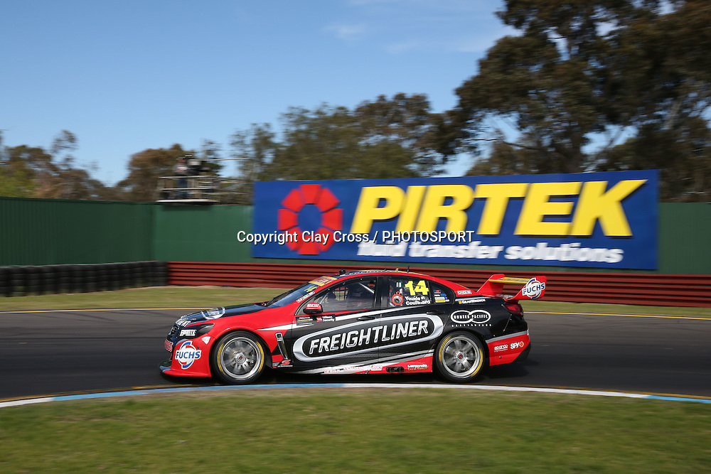 Fabian Coulthard & Luke Youlden (Freightliner Holden). 2015 Wilson Security Sandown 500. V8 Supercars Championship Round 9. Sandown International Raceway, Victoria. Sunday 13 September 2015. Photo: Clay Cross / photosport.nz
