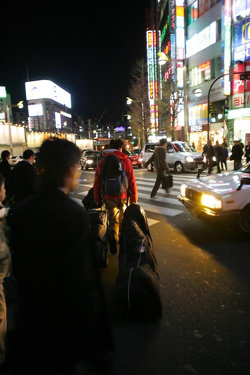 Rider:Phil Meier.Location: Shinjuku Tokyo  (Japan)