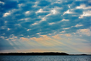 Storm clouds  on Lake of the Woods<br />Kenora District<br />Ontario<br />Canada