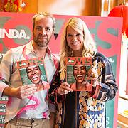 NLD/Amsterdam/20190916 - Lancerings lunch LINDA Loves, Linda de Mol en Hoofdredacteur Iebele van der Meulen