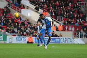 Blackburn Rovers midfielder Hope Akpan during the Sky Bet Championship match between Bristol City and Blackburn Rovers at Ashton Gate, Bristol, England on 5 December 2015. Photo by Jemma Phillips.
