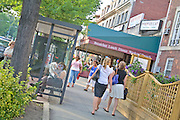 Washington DC shopping district of the Woodley Neighborhood by Jeffrey Sauers of Commercial Photographics, Architectural Photo Artistry in Washington DC, Virginia to Florida and PA to New England