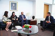 Empresarios de Emiratos Arabes Reunidos con Sendic