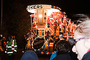 Jokers by Sidvale CC at North Petherton Guy Fawkes Carnival 2010.