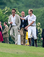 Princes William & Harry Play In Charity Polo