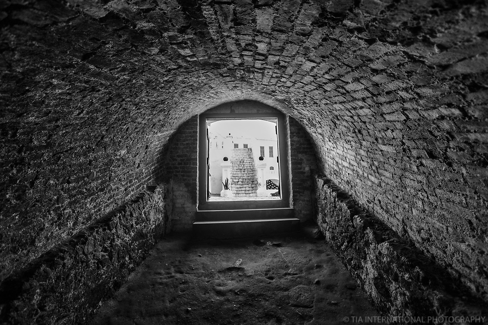 Tunnel Leading from Courtyard to Slave Dungeons