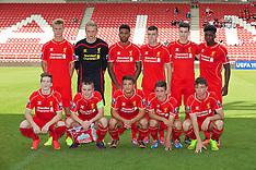 140916 Liverpool U21 v Ludogorets U21