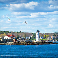 Portsmouth Harbor Lighthouse, New Castle NH. <br />