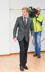 19.02.2016, Landesgericht, Innsbruck, AUT, Prozess gegen Langläufer Harald Wurm wegen schweren Sportbetrugs, im Bild Harald Wurm // Harald Wurm during a trial at the Court against Harald Wurm of aggravated fraud Sport at the Landesgericht in Innsbruck, Austria on 2015/02/09. EXPA Pictures © 2015, PhotoCredit: EXPA/ Johann Groder