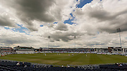 General view of the ground during the LV County Championship Div 1 match between Durham County Cricket Club and Somerset County Cricket Club at the Emirates Durham ICG Ground, Chester-le-Street, United Kingdom on 9 June 2015. Photo by George Ledger.