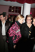 Emilia Fox and Kate Halfpenny,  Whitechapel and Hogan present Art Pls Drama Party 2007. Whitechapel Gallery. London. 8 March 2007. -DO NOT ARCHIVE-© Copyright Photograph by Dafydd Jones. 248 Clapham Rd. London SW9 0PZ. Tel 0207 820 0771. www.dafjones.com.