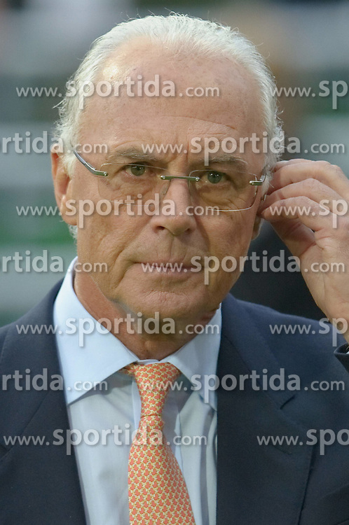 18.08.2010, Weserstadion, Bremen, GER, CL Qualifikation, Werder Bremen vs Sampdoria Genua, im Bild Franz Beckenbauer EXPA Pictures © 2010, PhotoCredit: EXPA/ nph/  Kokenge+++++ ATTENTION - OUT OF GER +++++ / SPORTIDA PHOTO AGENCY