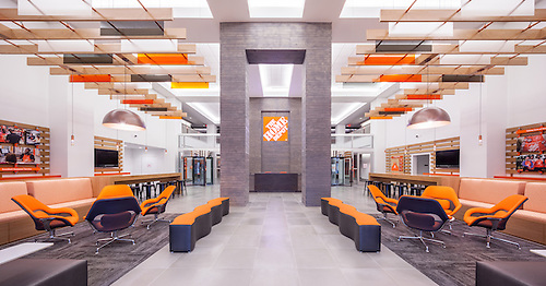 Home Depot Store Support Center (corporate Headquarters) Office Lobby.  Atlanta, Georgia.