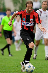 Peter Petran of Primorje at football match between NK Primorje Ajdovscina and NK Triglav Gorenjska of Second Slovenian football league, on May 16, 2010 in Vipava, Slovenia. Primorje placed first in 2.SNL and qualified for  PrvaLiga in season 2010/2011. (Photo by Urban Urbanc / Sportida)