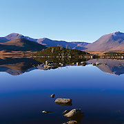 Calm waters, Black Mount, Rannoch Mor, Scotland