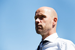 coach Erik ten Hag of Ajax during the Dutch Eredivisie match between sbv Excelsior Rotterdam and Ajax Amsterdam at Van Donge & De Roo stadium on May 06, 2018 in Rotterdam, The Netherlands