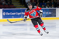KELOWNA, CANADA - DECEMBER 8: Myles Bell #29 of the Kelowna Rockets skates on the ice against the Prince George Cougars at the Kelowna Rockets on December 8, 2012 at Prospera Place in Kelowna, British Columbia, Canada (Photo by Marissa Baecker/Shoot the Breeze) *** Local Caption ***
