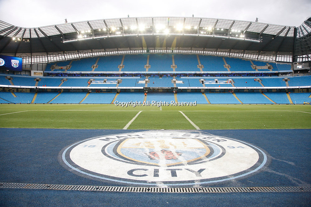 May 16th 2017, Etihad Stadium, Manchester, England; EPL Premier League football, Manchester City versus West Bromwich Albion; A general view of Manchester City's Etihad Stadium before tonight's game