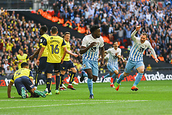 Goal, Gael Bigirimana of Coventry City scores, Coventry City 1-0 Oxford United - Photo mandatory by-line: Jason Brown/JMP -  02/04//2017 - SPORT - Football - London - Wembley Stadium - Coventry City v Oxford United - Checkatrade Trophy Final