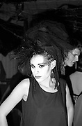 Helen, a Punk at the Bastile club, Bristol 1985