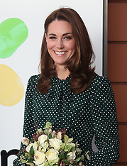 Royal visit to Evelina Children's Hospital and The Passage - 10 Dec 2018
