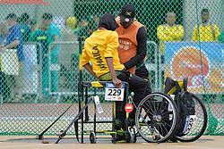 06/08/2017; Tavares, Tyandre, F51, JAM at 2017 World Para Athletics Junior Championships, Nottwil, Switzerland