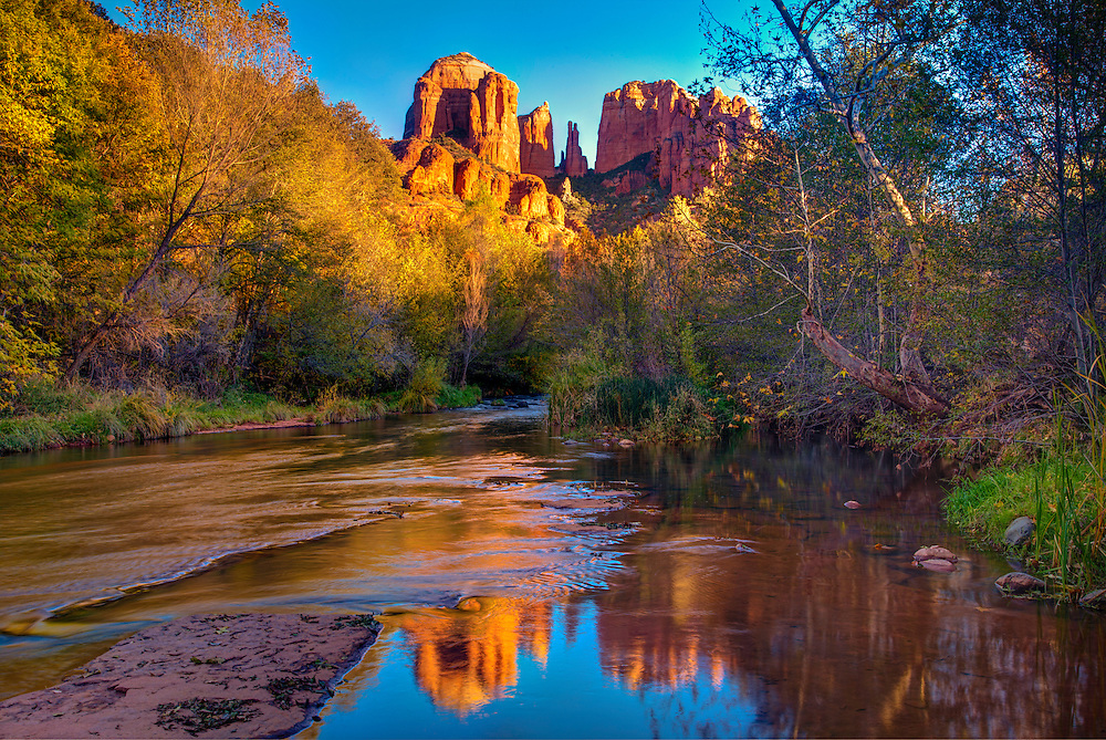 Oak Creek at Red Rock Crossing in Sedona