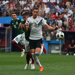 June 17, 2018 - Moscow, Russia - June 17, 2018, Russia, Moscow, FIFA World Cup, First round, Group F, Germany vs Mexico at the Luzhniki stadium. Player of the national team Julian Draxler (Credit Image: © Russian Look via ZUMA Wire)