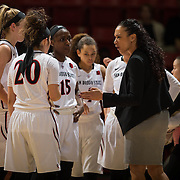 18 January 2017: The San Diego State Lady Aztecs play host to the University of Nevada Las Vegas Runnin' Rebels Wednesday night at Viejas Arena.