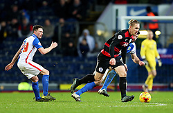 Sebastian Polter of Queens Park Rangers in action - Mandatory byline: Matt McNulty/JMP - 12/01/2016 - FOOTBALL - Ewood Park - Blackburn, England - Blackburn Rovers v QPR - SkyBet Championship