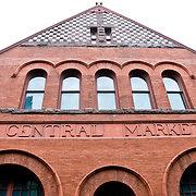 Exterior of the Central Market in Historic Downtown Lancaster, Pennsylvania