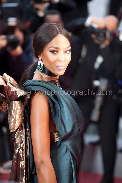 Naomi Campbell at the Blackkklansman (Black Klansman) gala screening at the 71st Cannes Film Festival, Monday 14th May 2018, Cannes, France. Photo credit: Doreen Kennedy