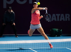 February 10, 2019 - Doha, QATAR - Samantha Stosur of Australia in action during qualifications at the 2019 Qatar Total Open WTA Premier tennis tournament (Credit Image: © AFP7 via ZUMA Wire)