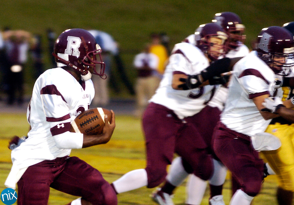 Jay M. Robinson at Concord High School Friday, September 5, 2008. Concord won the game 16-14. (photo by James Nix)