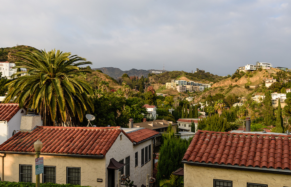 Whitley Heights, Hollywood Hills, Los Angeles, California