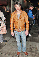 LONDON - October 03: Andrew Lee Potts in London (Photo by Brett D. Cove)