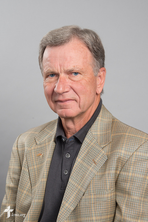 Headshot photograph of Butch Almstedt on Friday, May 29, 2015, at the International Center of The Lutheran Church–Missouri Synod in Kirkwood, Mo. LCMS Communications/Frank Kohn
