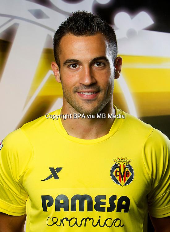Spain - La Liga BBVA  2014-2015 / <br /> ( Villarreal C.F. ) - <br /> Mario Gaspar Perez Mart&iacute;nez