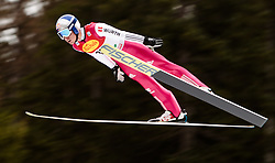 18.12.2015, Nordische Arena, Ramsau, AUT, FIS Weltcup Nordische Kombination, Skisprung, PCR, im Bild Jakob Lange (GER) // Jakob Lange of Germany during Skijumping PCR of FIS Nordic Combined World Cup, at the Nordic Arena in Ramsau, Austria on 2015/12/18. EXPA Pictures © 2015, PhotoCredit: EXPA/ JFK