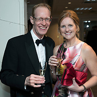 Perthshire Chamber of Commerce Business Star Awards 2017…Crieff Hydro Hotel<br />Eric Weir and Marie Barrett<br />Picture by Graeme Hart. <br />Copyright Perthshire Picture Agency<br />Tel: 01738 623350  Mobile: 07990 594431