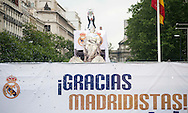 Real Madrid players celebrate winning the UEFA Champions League with an open top bus tour at Cibeles Square, Madrid<br /> Picture by EXPA Pictures/Focus Images Ltd 07814482222<br /> 29/05/2016<br /> ***UK &amp; IRELAND ONLY***<br /> EXPA-ESP-160529-0125.jpg