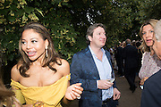 EMMA THYNN VISCOUNTESS WEYMOUTH; VISCOUNT WEYMOUTH 2016 SERPENTINE SUMMER FUNDRAISER PARTY CO-HOSTED BY TOMMY HILFIGER. Serpentine Pavilion, Designed by Bjarke Ingels (BIG), Kensington Gardens. London. 6 July 2016