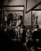 Ini Kamoze night photosession in Ocho Rios Rum Bar